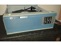 Vintage retro Alba record player model 632 BSR Turntable