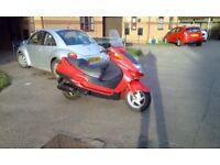 Honda fes 250cc moped rev and go cheap bargain