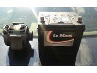 lexus is200 alternator & new battery