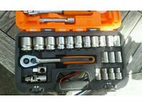 Half inch socket set