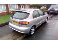 2002 Daewoo Automatic 50,000 miles
