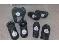 Martial Arts Pads Set (childrens) Size XS. Set consisits of helmet, shin pads, gloves and boots