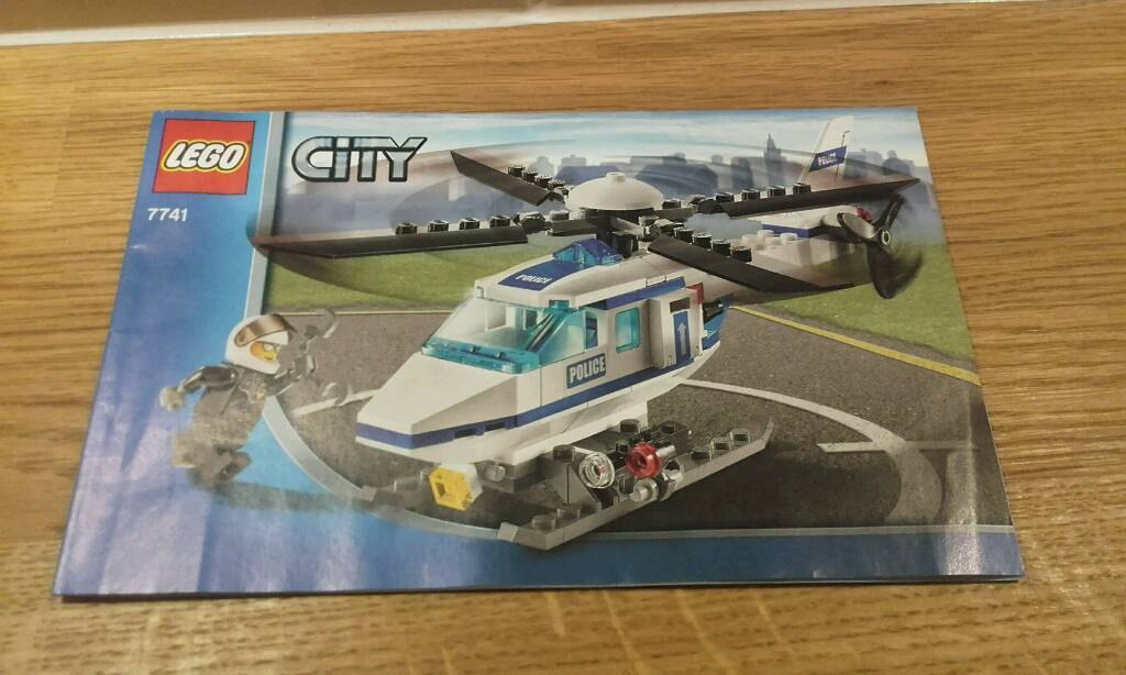 Lego city set 7741
