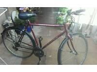 Dawes street cruiser 21 speed hybrid retro bike