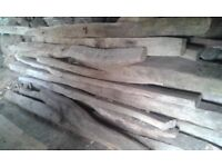 Reclaimed solid oak beams. long and thick great condition