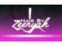 Mobile PRO Wig Specialist and UK Hairdresser -HairbyZeenyah