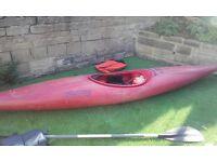 Kayak Canoe Perception with paddle and bouyancy