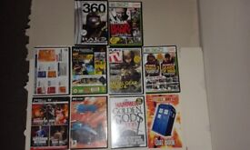Old PC games selection bundle.