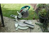 Sliding compound chop saw for sale £45