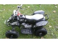 50cc Quad Brand New Bought For Xmas And My Lad Doesnt Like It