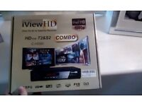 iView HD free to air & satelllite receiver combo box