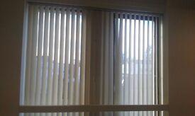 vertical canvass blinds