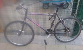 """Mtb bike 26"""" perfect order works"""