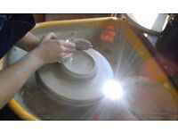 Potters wheel lessons