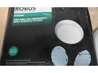 Robus LED light fitting