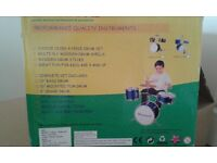 Junior Sized 4 Piece Drum Set