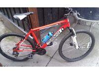 Muddy fox 7 speed mountain bike