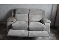 2 Seat sofa with foot rests