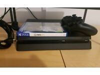 Ps4 slim 500 gb new model with fifa 18 and controller