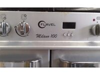 RANGE COOKER '' FLAVEL '' MILANO 100 CM This price only until Monday 12 pm