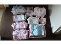 0-3 MTHS GIRLS CLOTHES & ACCESSORIES BUNDLE