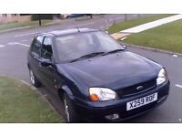 2001 ford fiesta ghia 1.3 excellent condition no knocks or bangs runs perfect mot till july 2017
