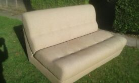 Sofabed - 2-seater with 'roll-out' mattress