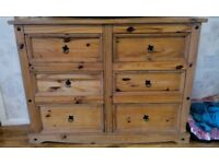 Large set of corona drawers
