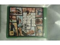 Grand theft auto 5 xbox one like new