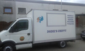 mobile fish and chip + catering van