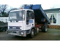 Ford iveco tipper cargo