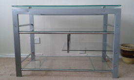 Strong glass TV/Storage unit only £30