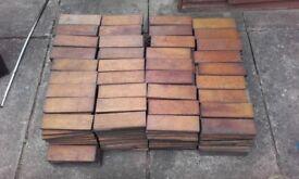 Reclaimed parquet flooring