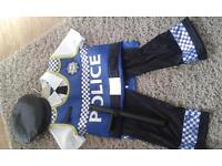 Kids policeman outfit. 5-6 years