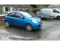 2011 nissan micra 1.2. Excellent condition. Low milage