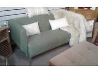 Retro Green Orangebox 2 seater Sofa Settee