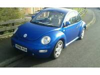 vw beetle may swap for a Audi bmw jeep