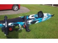 Kayak Moken 12 Fishing Kayak as New with all equipment