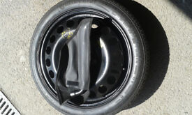 Vauxhall 16 inch spacesaver wheel and tyre.