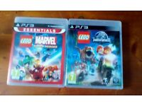 LEGO MARVEL AND JURASSIC WORLD PS3