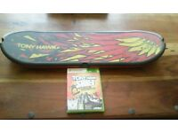 Tony hawk shred with wireless skateboard controller