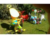 TOYS OUTDOORS SMALL BIKE SCUTTLE BUG SCUFFLE ALONG TRIKE ECT SOUTHEND /LAINDON