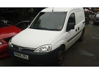 2006 Vauxhall Combo van 1.7 CDTi white BREAKING FOR SPARES