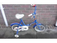 Boys Turbo Charged 2 x 2 First Bike Bicycle