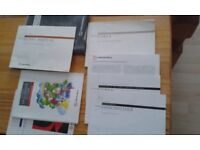 Vauxhall Corsa B owners hand books