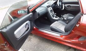 A very clean MG TF 135 Spark, with very low milege in excellent condition for year