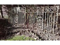 Wrought Iron Ornamental Driveway Gates