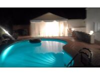 villa marissa front line villa with pool second line sea views minorca