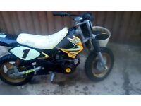 Champ semi automatic 50cc SX bike