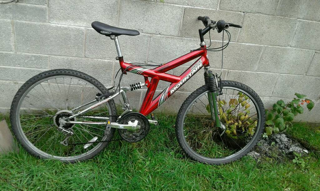Mountain ridge bicycle